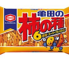 亀田 亀田の柿の種6袋詰 188円(税抜)