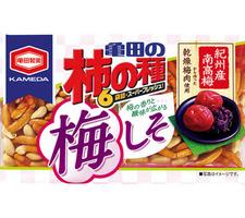 亀田 亀田の柿の種梅しそ6袋詰 188円(税抜)