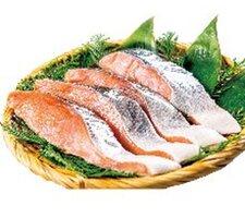 銀乃すけ切身(銀鮭)養殖・解凍 228円(税抜)