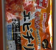 中華名菜えびちり 298円(税抜)