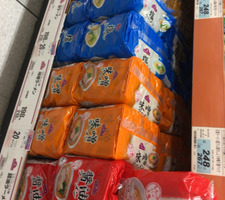 袋ラーメン 198円(税抜)