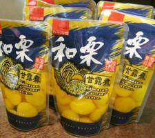 国産栗甘露煮 798円(税抜)