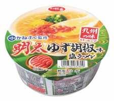 サッポロ一番明太ゆず胡椒味 塩ラーメン 108円