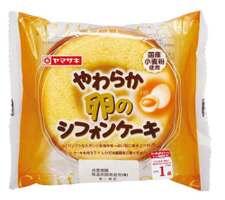 やわらか卵のシフォンケーキ 108円