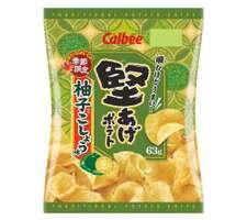 堅あげポテト 柚子こしょう味 108円