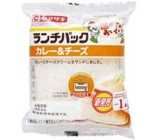 ランチパック カレー&チーズ 108円