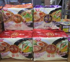 日清ラ王5食 258円(税抜)