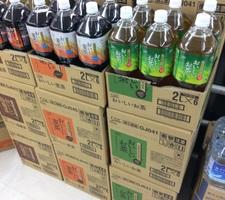 おいしいお茶烏龍茶麦茶(6本入り1箱) 598円(税抜)