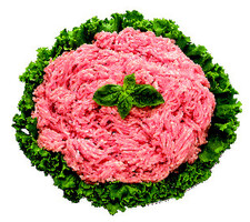 豚挽肉(解凍) 105円(税抜)