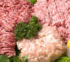 牛豚合挽肉 108円