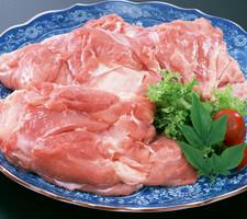 朝どり若鶏モモ肉 115円(税抜)