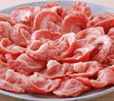 国産 豚肉モモ切落し 118円(税抜)