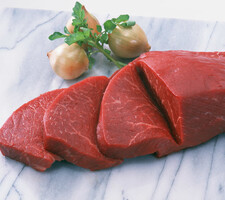 和牛(黒毛和種)A4 もも肉 ブロック 549円(税抜)