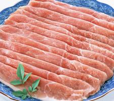 豚肉モモうす切り 148円(税抜)