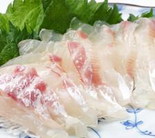 活〆真鯛(養殖)刺身用 498円(税抜)