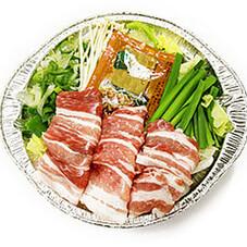 肉鍋セット 398円(税抜)