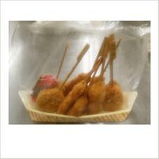5種の串カツ盛合せ 380円(税抜)