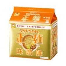 マルチャン・正麺・味噌味 278円(税抜)