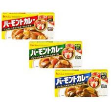 バーモントカレー(甘口・中辛・辛口) 128円