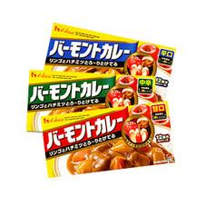 バーモンドカレー各種 187円(税抜)