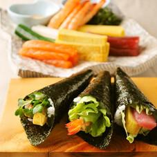 手巻き寿司セット 1,270円(税抜)