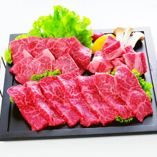 宮崎牛焼肉盛合せ(解凍) 1,980円(税抜)