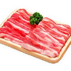 豚ばら肉焼肉用 118円(税抜)