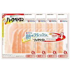朝のフレッシュハーフベーコン連 199円(税抜)