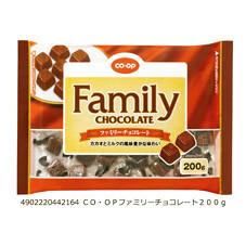 ファミリーチョコレート 238円(税抜)