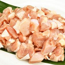 若鶏モモ角切り鍋物用 107円(税抜)
