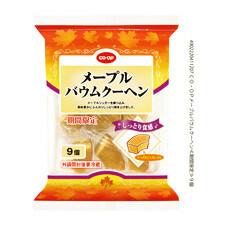 メープルバウムクーヘン 198円(税抜)