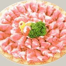 国産豚肉カタロースしゃぶしゃぶ用切り落し 168円(税抜)