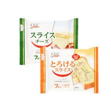 スライスチーズ・とろけるスライスチーズ 157円(税抜)