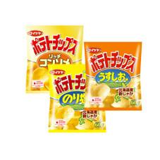 ポテトチップス 各種 65円(税抜)