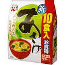 生タイプみそ汁あさげ 徳用 198円(税抜)
