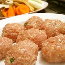 若鶏つみれ(味付け)鍋物用 77円(税抜)