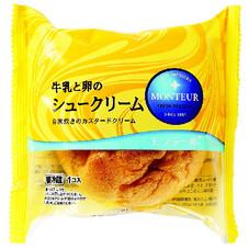 牛乳と卵のシュークリーム 78円(税抜)