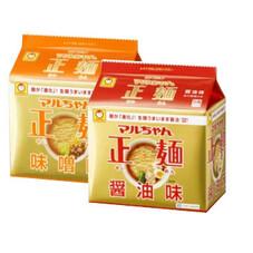 マルちゃん 正麺 287円(税抜)