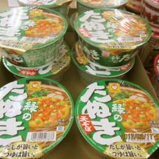 緑のたぬき天そば 88円(税抜)