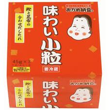 おかめ味わい小粒納豆 64円(税抜)