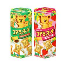 コアラのマーチ 各種 77円(税抜)