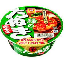マルちゃん緑のたぬき天そば 98円(税抜)