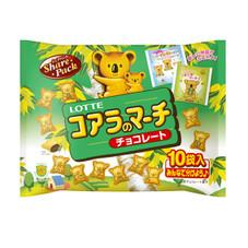 コアラのマーチシェアパック 197円(税抜)