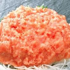 刺身用まぐろタタキ 199円(税抜)