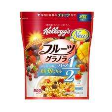 フルーツグラノラ ハーフ徳用袋 497円(税抜)