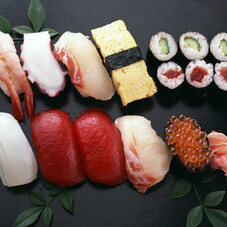 お寿司盛合せ 398円(税抜)
