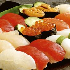 旬鮮にぎり寿司盛合わせ 880円(税抜)