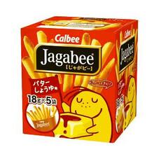 じゃがビ- バタ-しょうゆ味 168円(税抜)