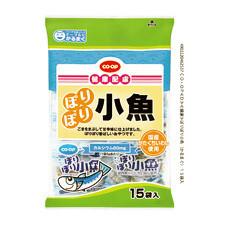 ぽりぽり小魚 258円(税抜)