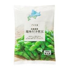 北海道産塩味付き枝豆 380円(税抜)